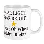 Where oh Where is Mrs. Right? Mug