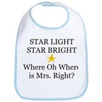 Where oh Where is Mrs. Right? Bib