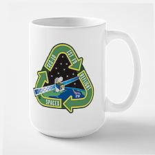 SES-10 Program Logo Large Mug