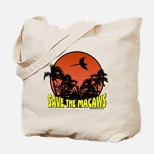 Macaw Conservation Tote Bag