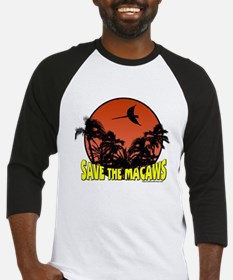 Macaw Conservation Baseball Jersey