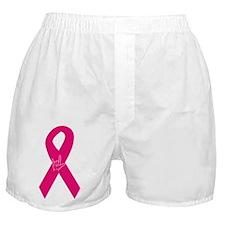 Breast Cancer Ribbon Boxer Shorts