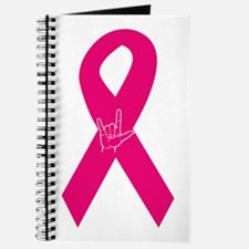 Breast Cancer Ribbon Journal