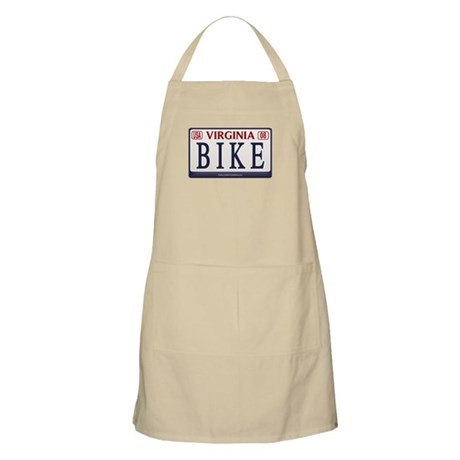 BIKE VA License Plate BBQ Apron