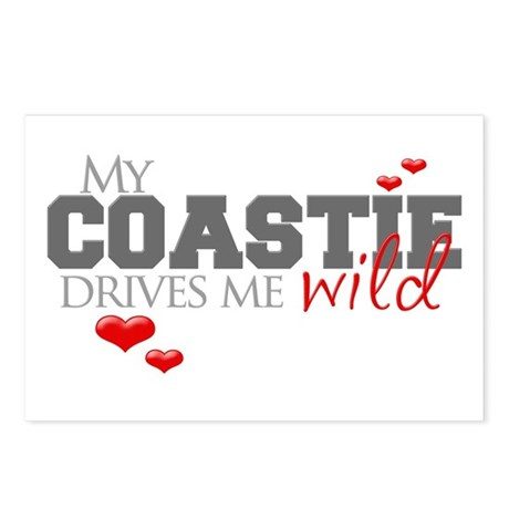 Coastie Drives me Wild Postcards (Package of 8)
