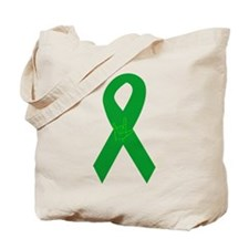 Organ Donor Ribbon Tote Bag