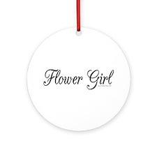 """""""Flower Girl"""" Keepsake (Round)"""