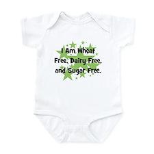 Dairy, Wheat, & Sugar Free Infant Bodysuit