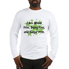 Dairy, Wheat, & Sugar Free Long Sleeve T-Shirt