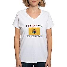 I Love My New Jersey Dad Shirt