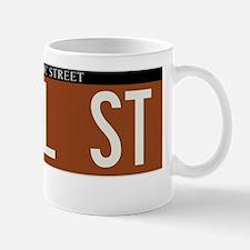 Pearl Street in NY Mug