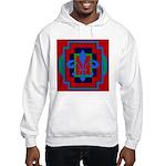 Fleur De Lis Art Deco 2 Hooded Sweatshirt