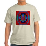 Fleur De Lis Art Deco 2 Light T-Shirt