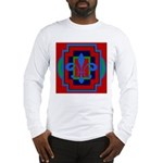 Fleur De Lis Art Deco 2 Long Sleeve T-Shirt