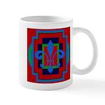 Fleur De Lis Art Deco 2 Mug