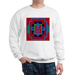 Fleur De Lis Art Deco 2 Sweatshirt