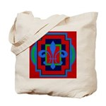 Fleur De Lis Art Deco 2 Tote Bag