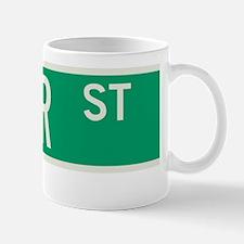 Cedar Street in NY Mug
