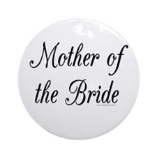 """Mother of the Bride"" Keepsake (Round)"