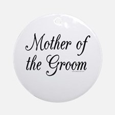 """Mother of the Groom"" Keepsake (Round)"