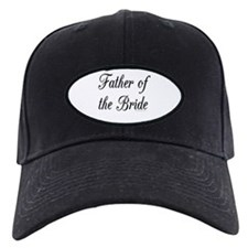 """Father of the Bride"" Baseball Cap"
