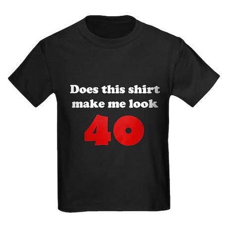 Make Me Look 40 Kids Dark T-Shirt
