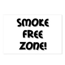 Smoke Free Zone! Postcards (Package of 8)