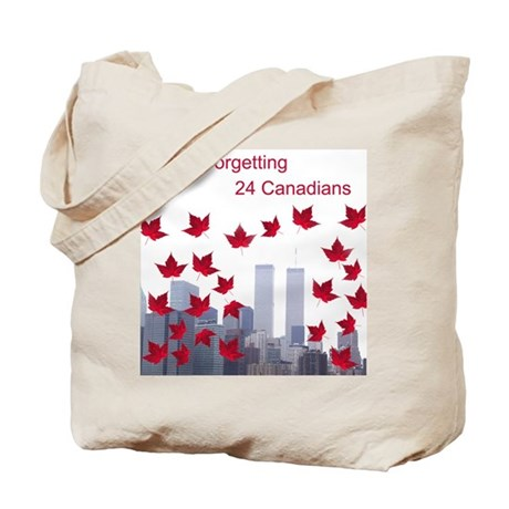 24 Canadians Tote Bag