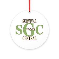 Survival Gear Central Logo Ornament (Round)
