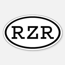 RZR Oval Oval Decal