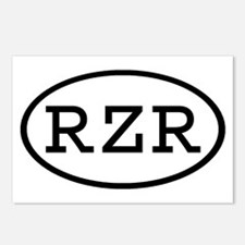 RZR Oval Postcards (Package of 8)