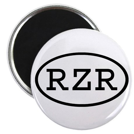 """RZR Oval 2.25"""" Magnet (10 pack)"""