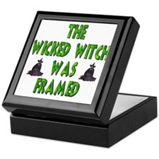 The Wicked Witch Was Framed Keepsake Box