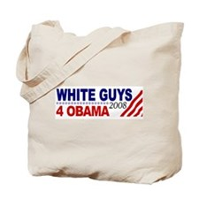 White Guys 4 Obama Tote Bag