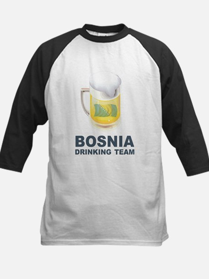 Bosnia Drinking Team Kids Baseball Jersey