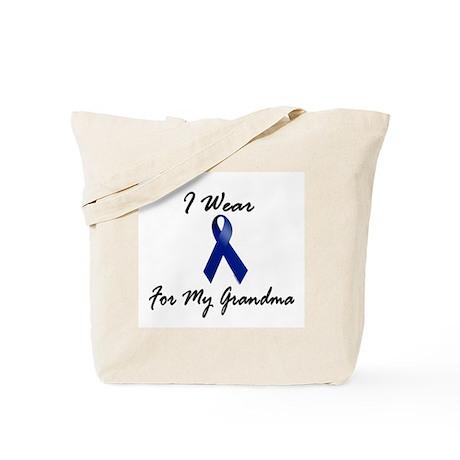 I Wear Blue For My Grandma 1 Tote Bag