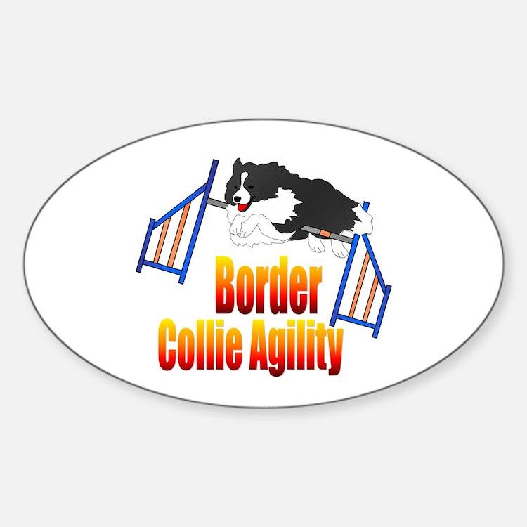 Border Collie Agility Decal