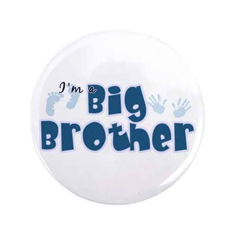 """Im A Big Brother 3.5"""" Button"""