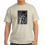 Cemetery sculpture Ash Grey T-Shirt