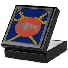 Buffalo Soldier Badge Keepsake Box