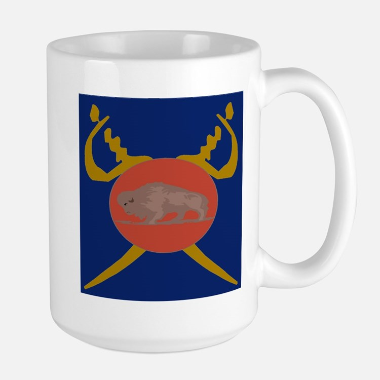 Buffalo Soldier Badge Mug