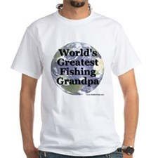 """World's Greatest Fishing Grandpa"" Shirt"