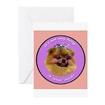 Pomeranian Bitch! Greeting Cards (Pk of 20)