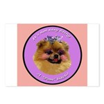 Pomeranian Bitch! Postcards (Package of 8)
