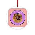 Pomeranian Bitch! Ornament (Round)