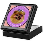 Pomeranian Bitch! Keepsake Box