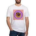 Pomeranian Bitch! Fitted T-Shirt
