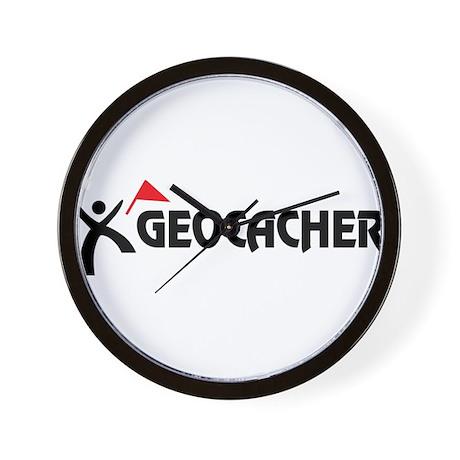 Geocacher Wall Clock