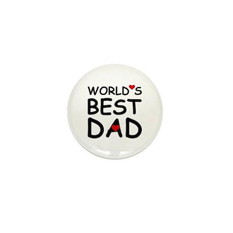 WORLD'S BEST DAD Mini Button