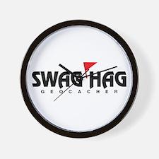 Swag Hag Wall Clock